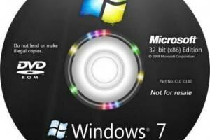 Установка Windows 7 с нуля