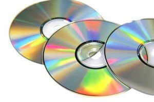 Пустой записанный диск