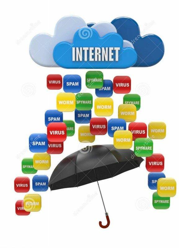 защитите свой компьютер от вирусов и спама