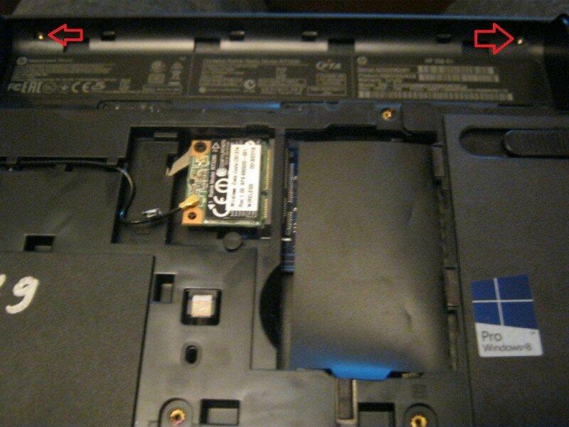 Разборка HP 250 (инструкция в картинках)