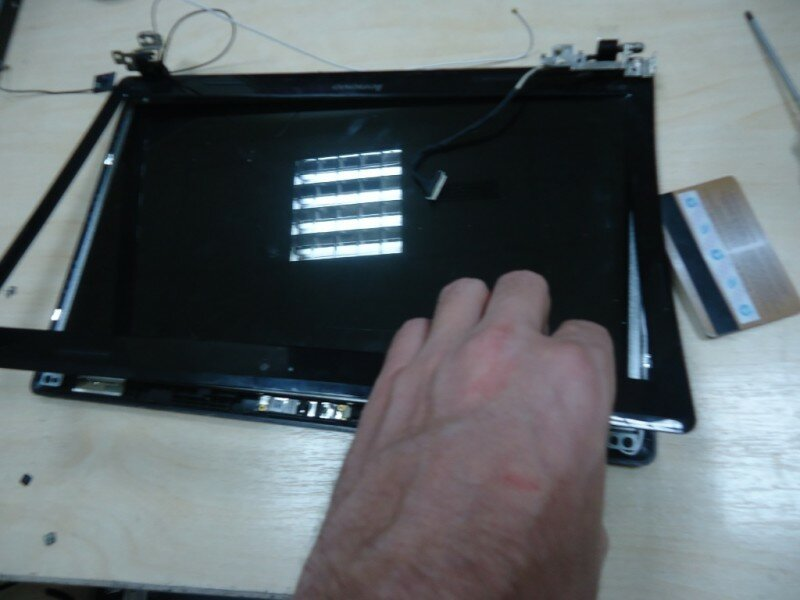 Замена матрицы Lenovo G570 (Инструкция в картинках)