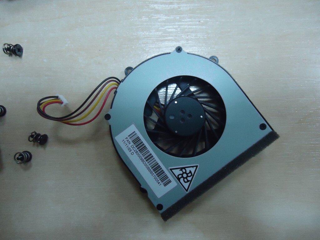 разборка Lenovo G570 система охлаждения