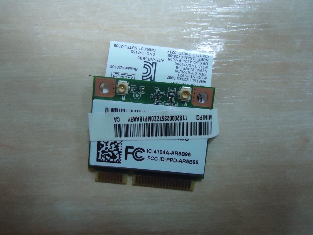разборка Lenovo G570 модуль wi fi