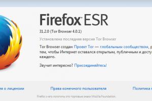 Скачать Tor браузер (описание программы)