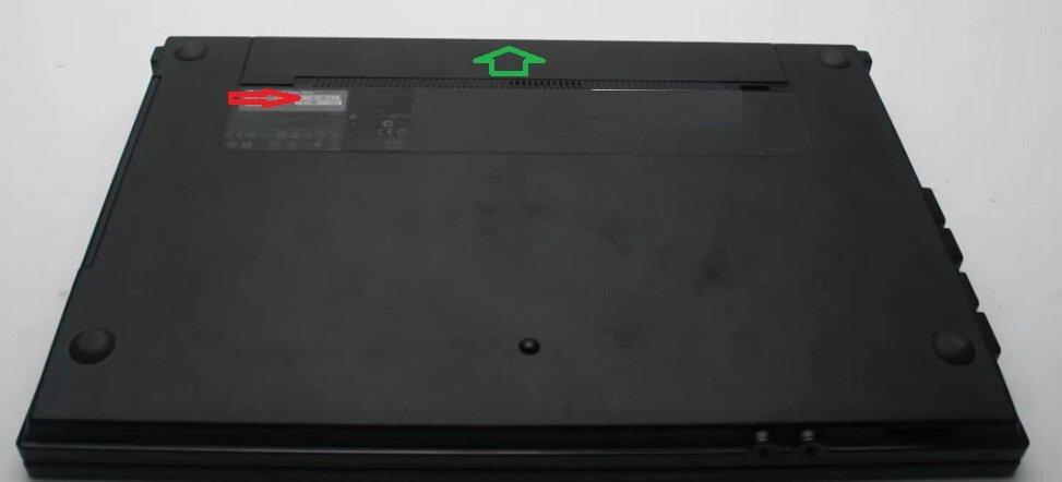 Разборка HP ProBook 4520s снять батарею