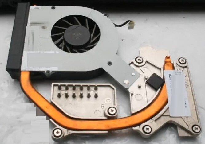 Разборка HP ProBook 4520s система охлаждения