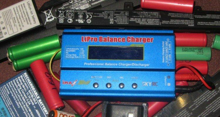 Восстановление аккумуляторов (NiMH LiIon LiPo) с помощью зарядного устройства IMax B6
