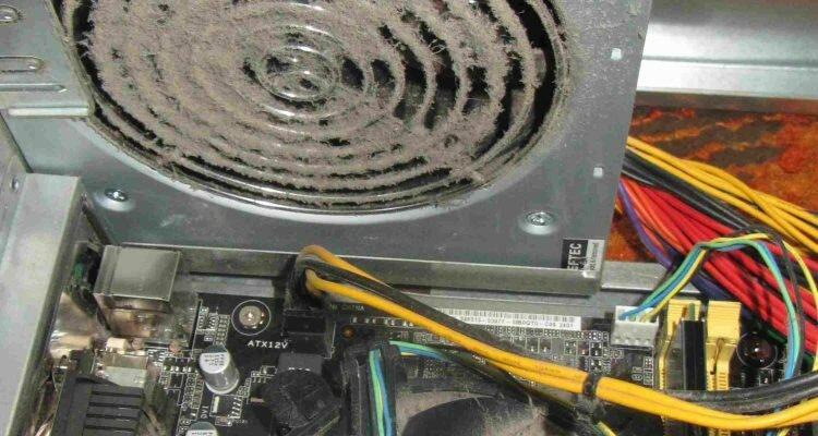 Чистка компьютера от пыли в домашних условиях. Замена термопасты. Детальная и полная инструкция в картинках