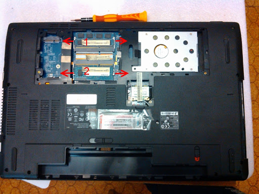 Разборка Acer Aspire 7741G (инструкция в картинках)