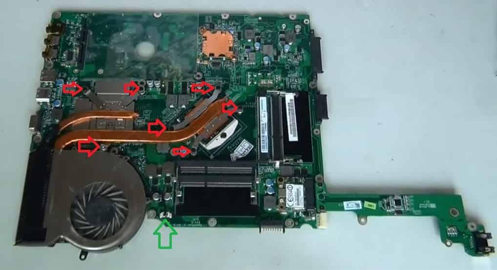 Разборка Acer Apsire 7745G