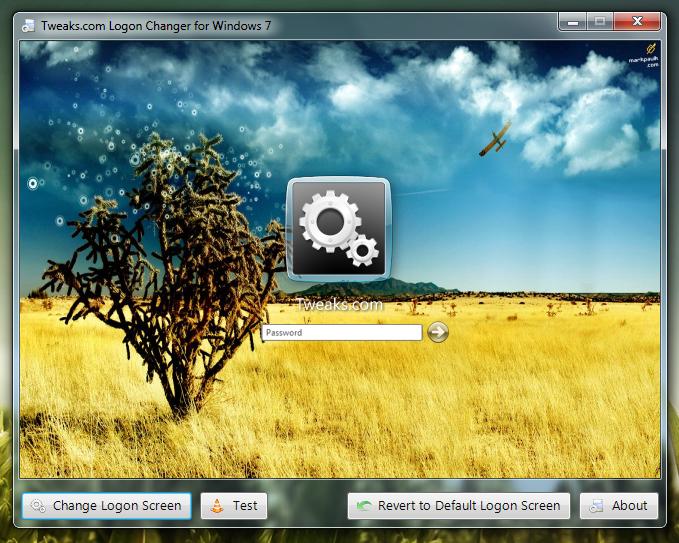 Изменить экран приветствия в Windows