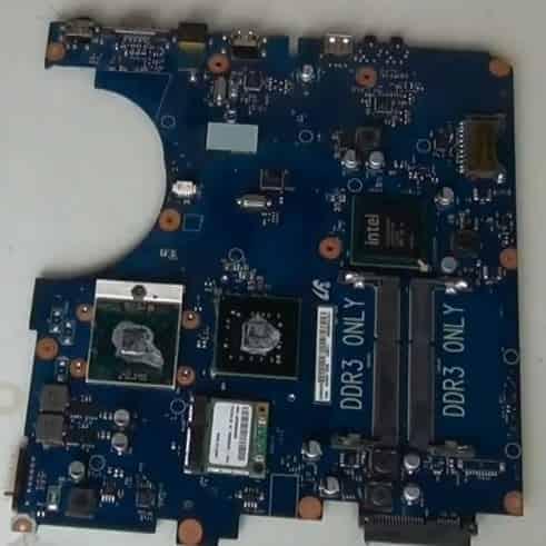 разобрать Samsung R730 (R720) система охлаждения