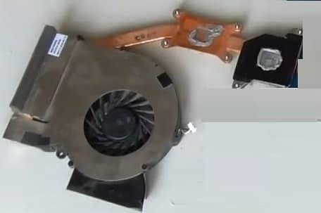 """title=""""разобрать Samsung R730 (R720) система охлаждения"""