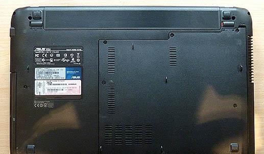 Как разобрать ASUS X52D (чистим систему охлаждения)